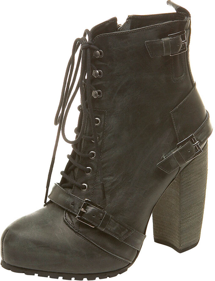 POWER Lace Up Boot By Boutique