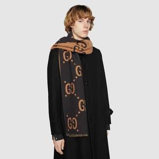 Gucci GG wool scarf