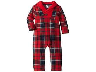 Janie and Jack Long Sleeve Plaid Bodysuit (Infant)