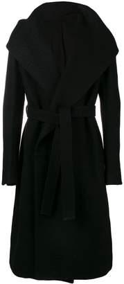 Rick Owens Liner wrap-front coat
