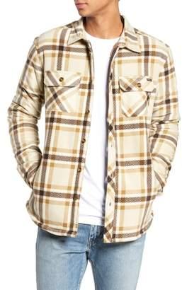 O'Neill Glacier Heat Dome Plaid Fleece Shirt