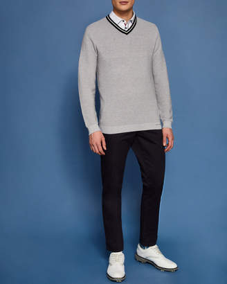 Ted Baker DELOTA Knitted cotton-blend sweater
