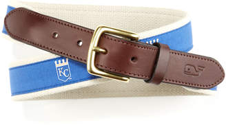 Vineyard Vines Kansas City Royals Canvas Club Belt