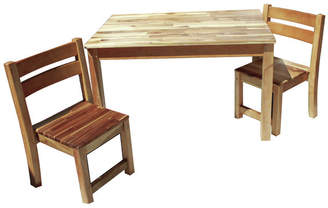 STUDY Q Toys Desk and 2 Chairs Set