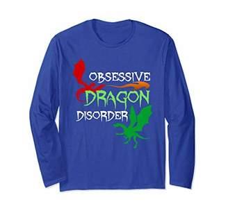Dragon Optical Obsessive Disorder Long Sleeve T-Shirt - Cool Dragons