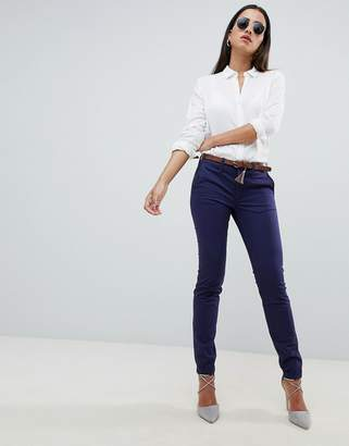 Salsa colette chino with belt