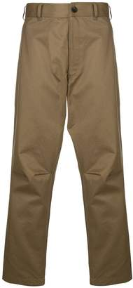 Comme des Garcons straight-leg chinos