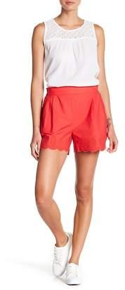 Joe Fresh Scallop Trim Shorts