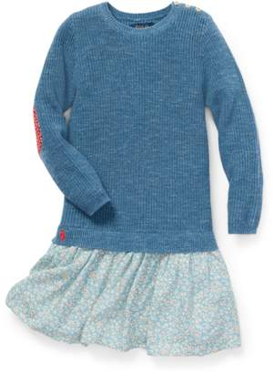 Ralph Lauren Kids Layered Sweater Dress
