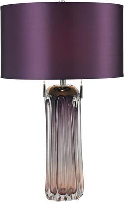 Elk Lighting 25In Ferrara Free Blown Glass Table Lamp