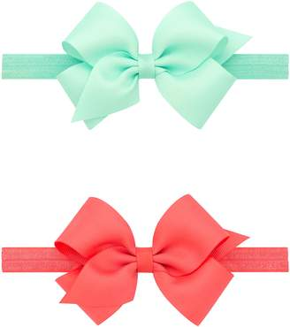 PLH Bows 2-Pack Grosgrain Bow Headbands