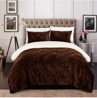 Joseph A Chic Home Josepha 7 Piece Queen Bed In a Bag Comforter Set Bedding