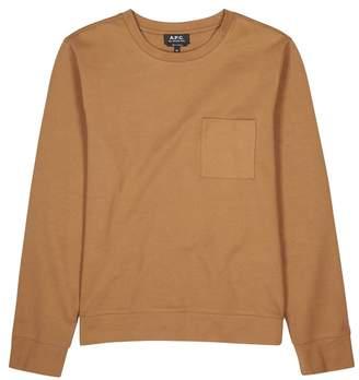 A.P.C. Yogi Camel Fleece Sweatshirt