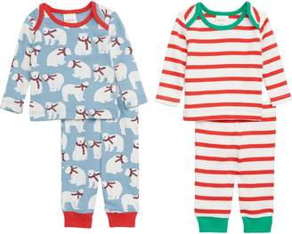 Boden Mini Jersey 2-Pack T-Shirt & Pants Set