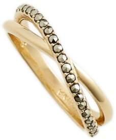 Judith Jack Crisscross Ring