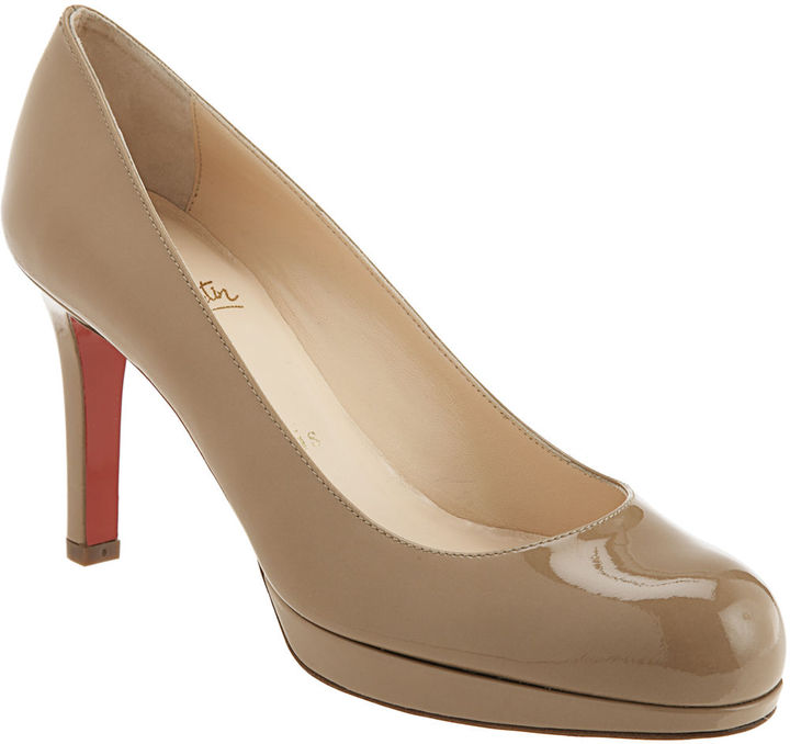 Christian Louboutin Patent New Simple Pump 90