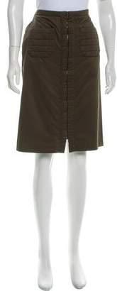 Chanel A-Line Knee-Length Skirt