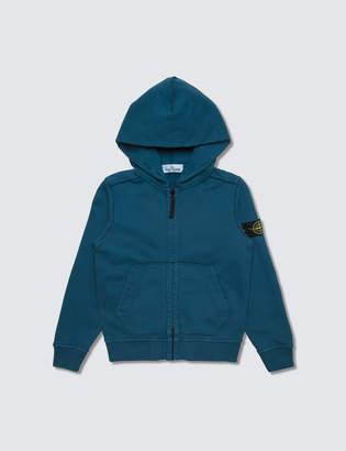 Stone Island Basic Zip Up Hoodie (Kids)