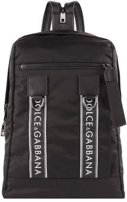 Dolce & Gabbana Logo Banner Backpack