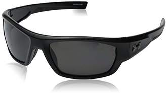 Under Armour Force Storm 8630086-010108 Polarized Rectangular Sunglasses