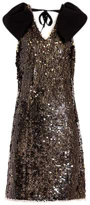 Rejina Pyo Sleeveless sequinned dress