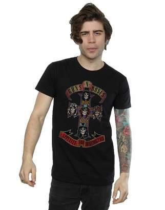 N. Guns N' Roses Guns Roses Men's Appetite for Destuction Distressed T-Shirt Medium