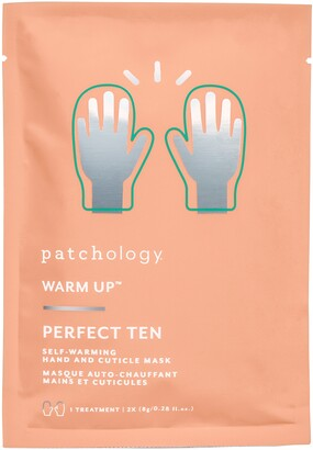 Patchology Warm Up(TM) Perfect Ten Self-Warming Hand & Cuticle Mask