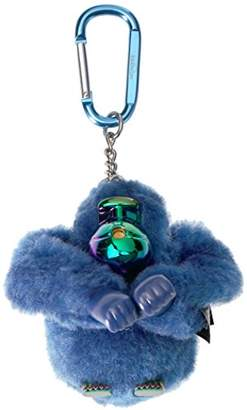 Kipling Lou Blue Monkey Key Chain