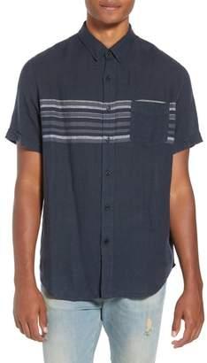 Rails Carson Regular Fit Stripe Woven Shirt