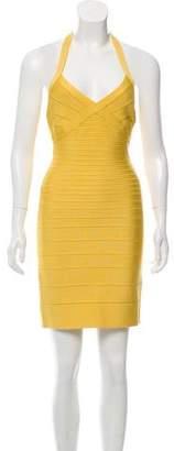 Herve Leger Signature Bandage Dress