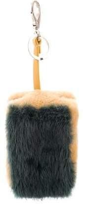 Anya Hindmarch Scourer Fur Bag Charm