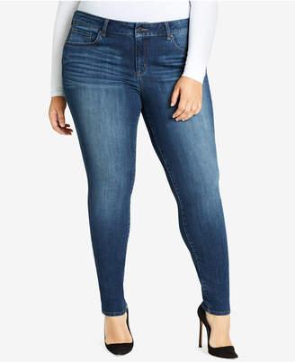 William Rast Trendy Plus Size Skinny Jeans
