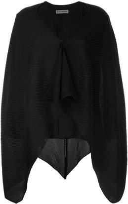 Issey Miyake draped knitted top