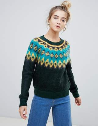 Noisy May folk sweater