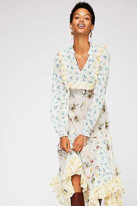 By Ti Mo By Timo Bohemian Printed Dress