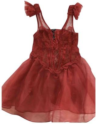 La Perla Red Silk Dress for Women