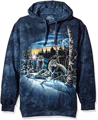 The Mountain Find 13 Wolves Adult Hoodie