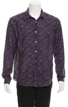John Varvatos Paisley Casual Shirt