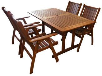 Jamaica 5 Piece Outdoor Timber Set