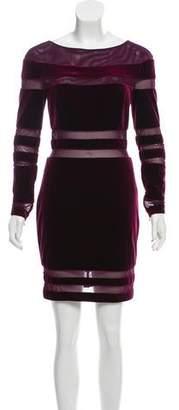 Jovani Long Sleeve Mini Dress