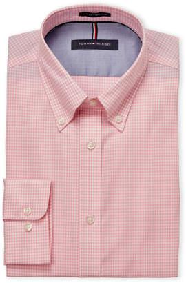 Tommy Hilfiger Vintage Rose Gingham Slim Fit Dress Shirt