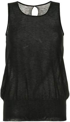 Uma Wang back keyhole tank top