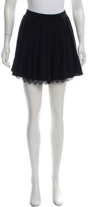 Chanel High-Rise Silk Shorts