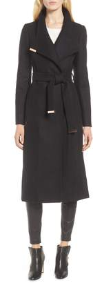 Ted Baker London Londer Midi Wool Wrap Coat
