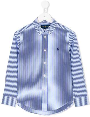 Ralph Lauren button down striped shirt
