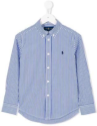 Ralph Lauren button down striped shirt