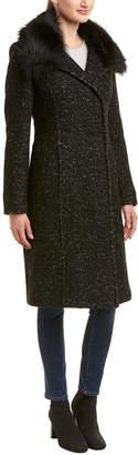 Elie Tahari Anna Wool-Blend Coat