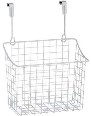 Spectrum Diversified Designs Spectrum Over Cabinet Door Large White Grid Basket