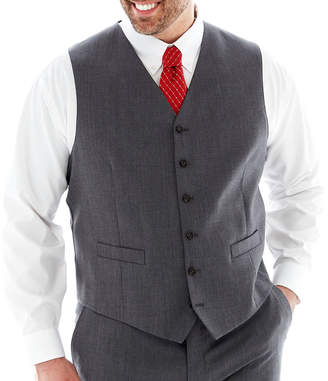 STAFFORD Stafford Executive Super 100 Wool Suit Vest - Big & Tall