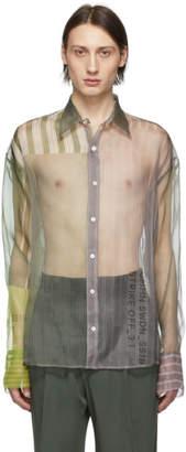 Cmmn Swdn Grey Organza Cecil Strike Off Shirt